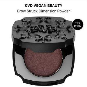BNIB KVD Pressed Brow Powder in Walnut
